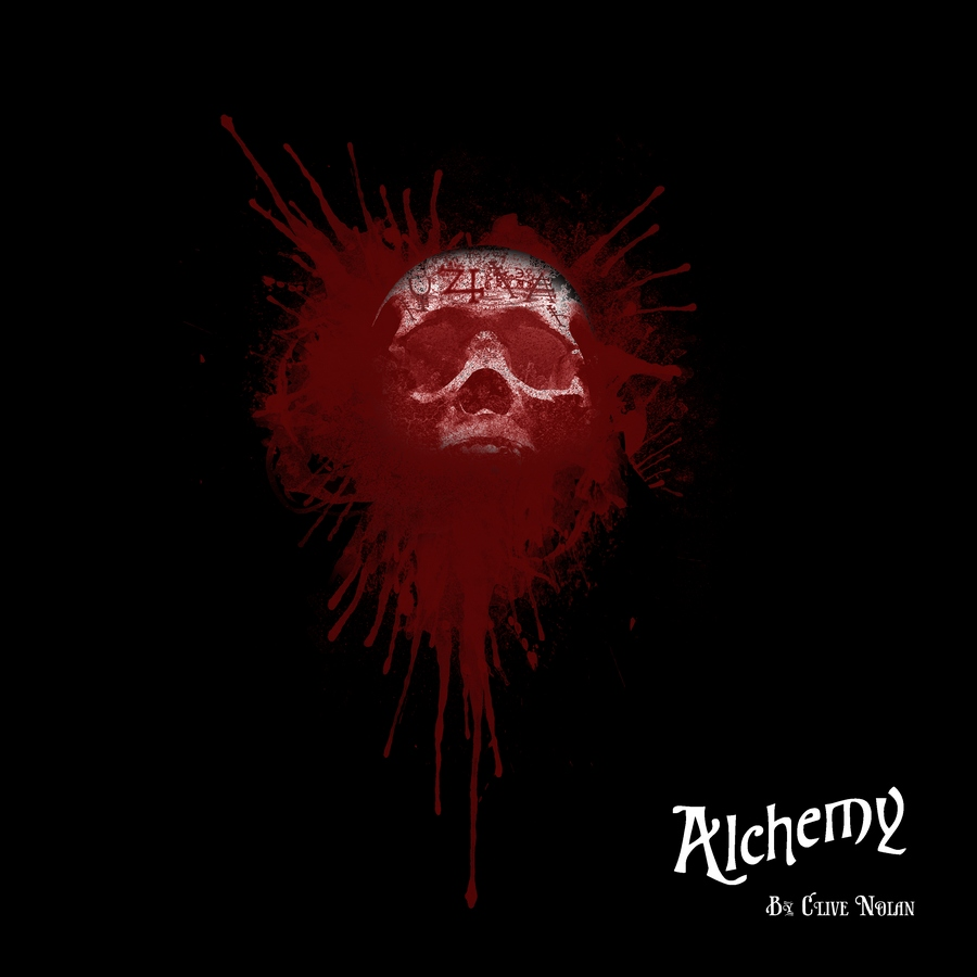 Alchemy CD Cover artwork by Graeme Bell