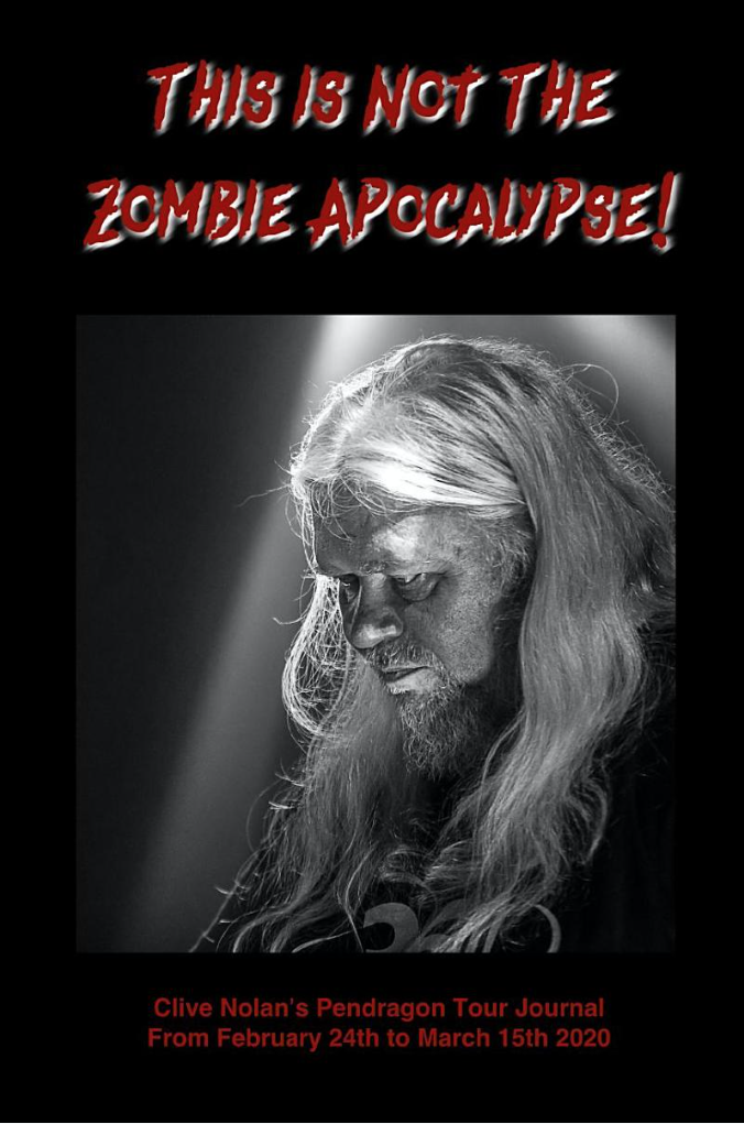 Clives zombie book cover